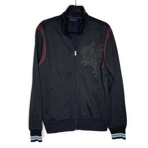 Hurley Men's Black Zip Sweatshirt